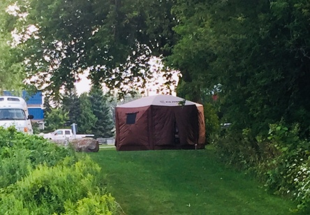 Yurt at The Soo 2018